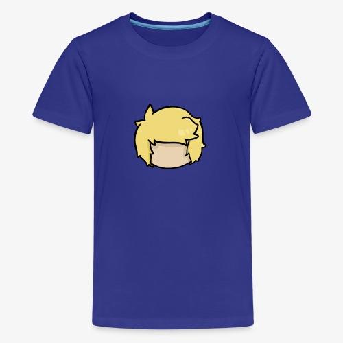 head outline - Kids' Premium T-Shirt