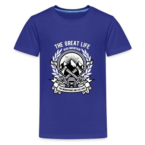 The Great Life - Kids' Premium T-Shirt