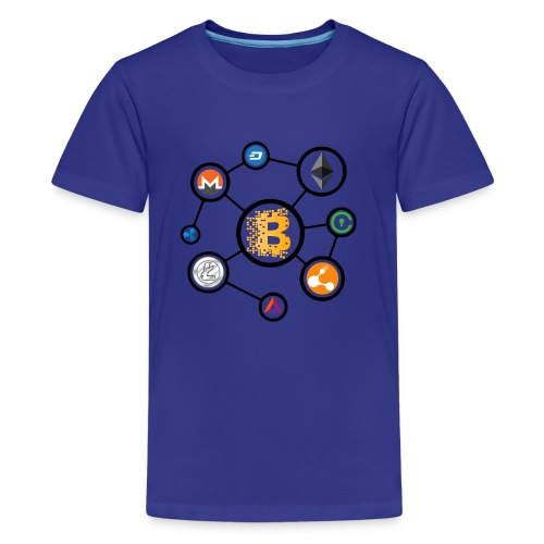 blockchain network - Kids' Premium T-Shirt
