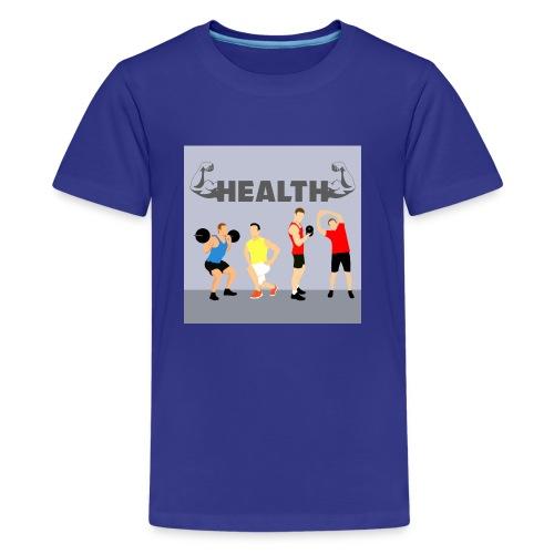 Gym wear present for everyone gift idea - Kids' Premium T-Shirt