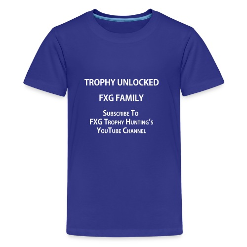 FXG Family Trophy Unlocked - Kids' Premium T-Shirt