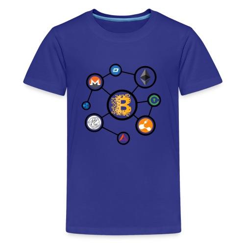blockchain network - Kids' Premium T-Shirt