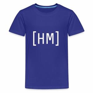 Wihte Hammy Media shirt and accessorie design - Kids' Premium T-Shirt