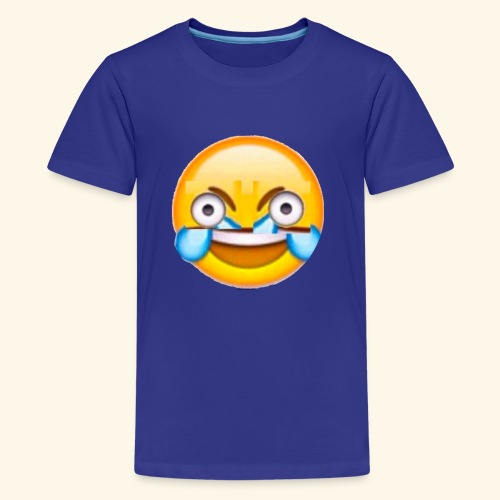 Mad Laughing Face - Kids' Premium T-Shirt
