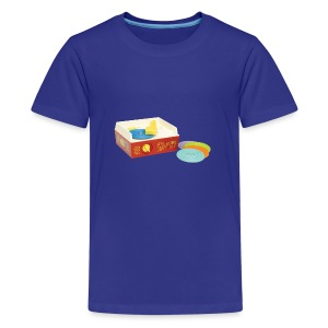 Toy Record Player - Kids' Premium T-Shirt