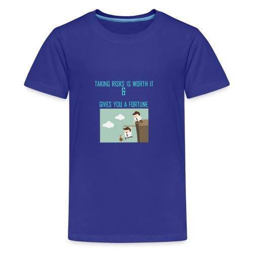 Taking Risks - Kids' Premium T-Shirt