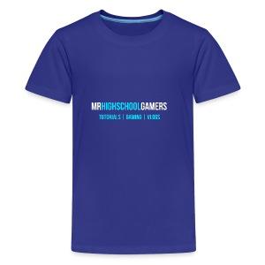 Logo and Sub-heading - Kids' Premium T-Shirt