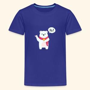 Adorable Bear - Kids' Premium T-Shirt