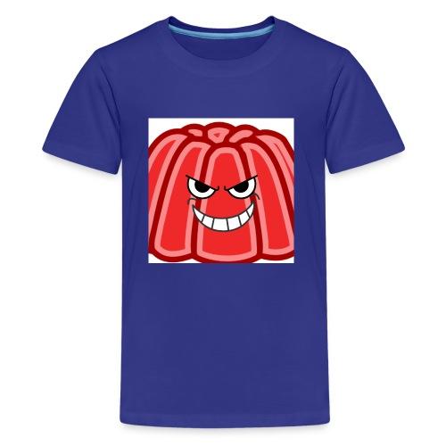 Red jelly kids hoodie - Kids' Premium T-Shirt