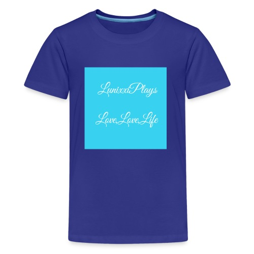 7637DE9B 36B0 4755 90EB B7ED78D700D7 - Kids' Premium T-Shirt