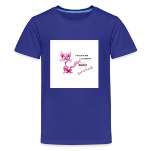 pink pussy forward tee - Kids' Premium T-Shirt