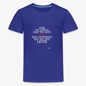Present2Future - Kids' Premium T-Shirt