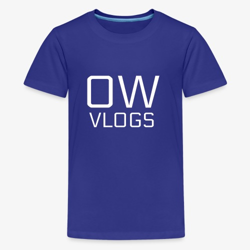 OW VLOGS MERCH - Kids' Premium T-Shirt