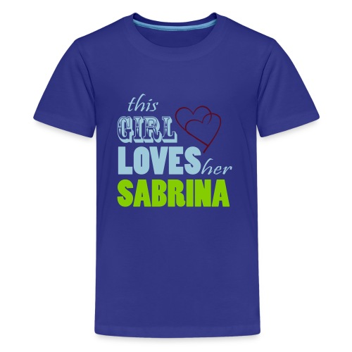 THIS GIRL LOVE HER SABRINA Special - Kids' Premium T-Shirt