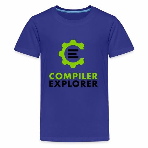 Logo and text - Kids' Premium T-Shirt