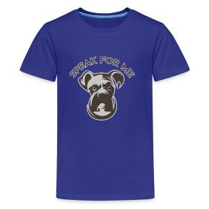 Speak for Me - Kids' Premium T-Shirt