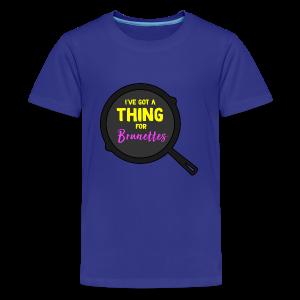Flynn Rider Pan - Kids' Premium T-Shirt