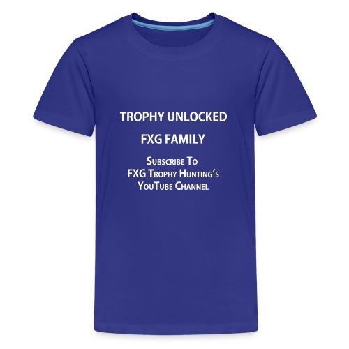FXG Family Trophy Unlocked - Kids' Premium T-Shirt