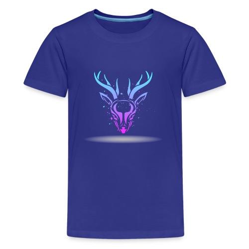 Tribal deer - Kids' Premium T-Shirt