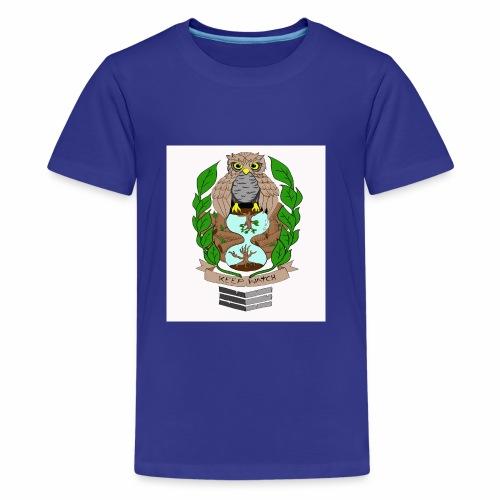 owl hourglass - Kids' Premium T-Shirt