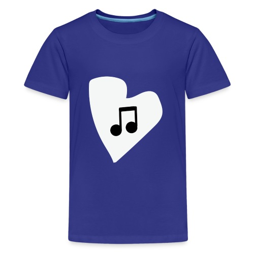 musical feeling WHITE - Kids' Premium T-Shirt