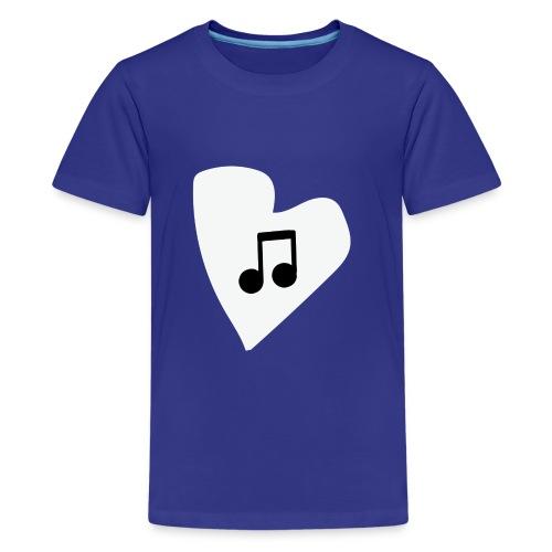 musical feeling WHITE - Kids' Premium T-Shirt