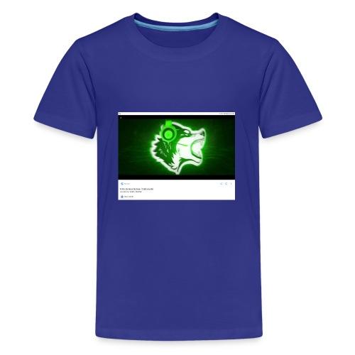 Wolf gamer - Kids' Premium T-Shirt