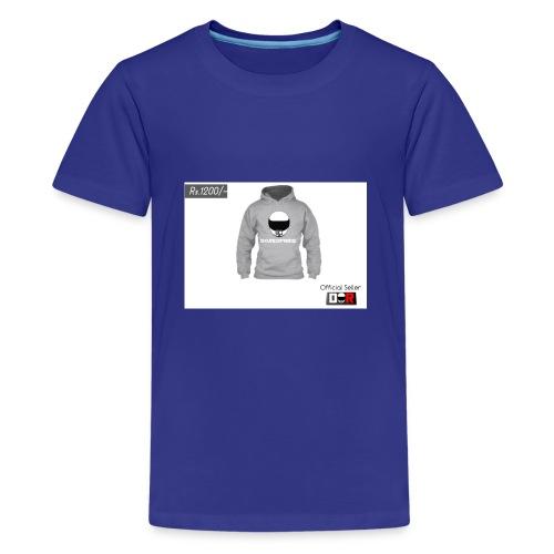 Winter Hoodie by DoseOfRide | Rs.1200/- - Kids' Premium T-Shirt