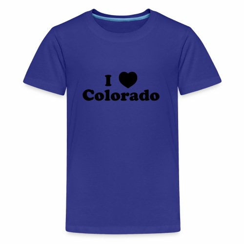 colorado heart - Kids' Premium T-Shirt