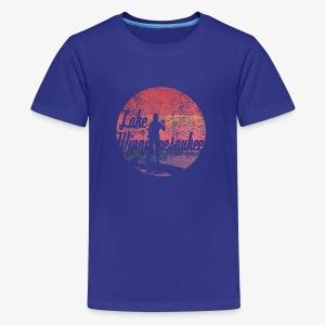 Lake Winnipesaukee Paddle Board Tee Shirt - Kids' Premium T-Shirt