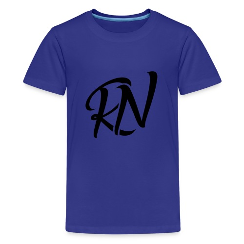 RomanNation Black (RN) - Kids' Premium T-Shirt