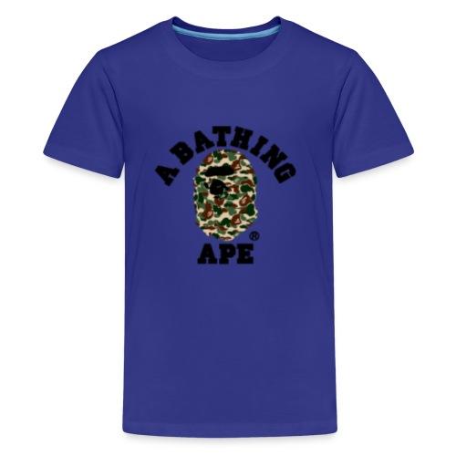 BathingApeCamoLogoMerch - Kids' Premium T-Shirt