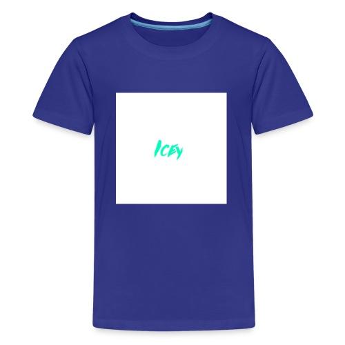 Icey logo - Kids' Premium T-Shirt