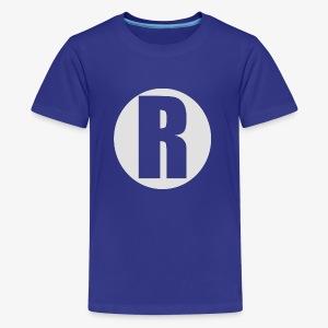 R white - Kids' Premium T-Shirt