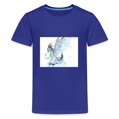 Little dude griffins and dragons 30659635 1004 791 - Kids' Premium T-Shirt