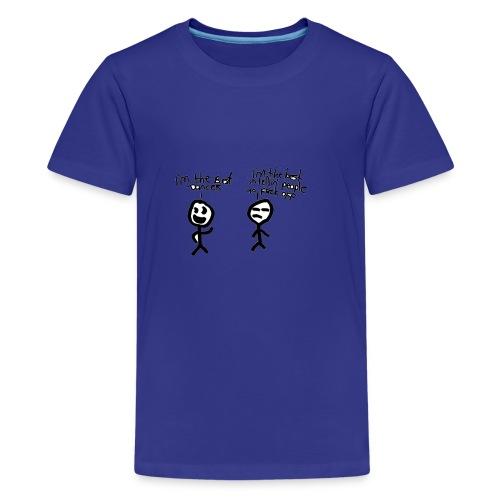 Funny Cartoon Design - Kids' Premium T-Shirt