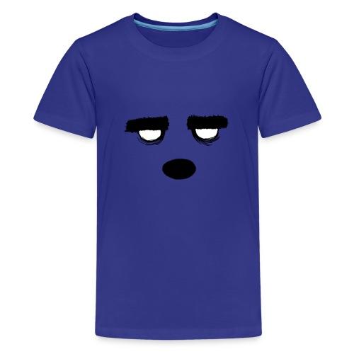 Women's Style Grumpy Bear Face - Kids' Premium T-Shirt