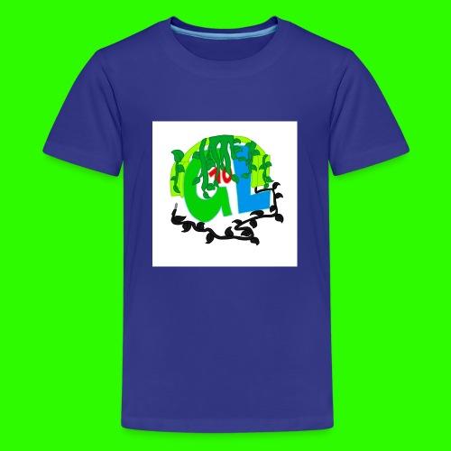 Greenleaf10 logo - Kids' Premium T-Shirt