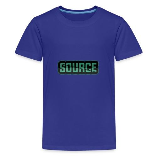 Green and Black Source Logo - Kids' Premium T-Shirt