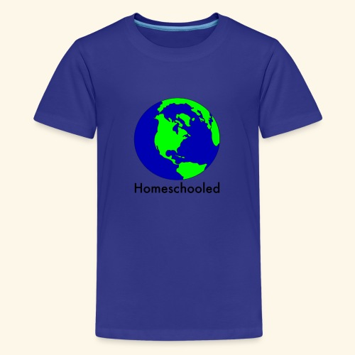 Homeschooled World - Kids' Premium T-Shirt