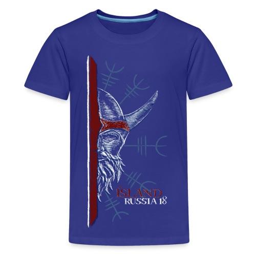 Icelandic Viking - Kids' Premium T-Shirt