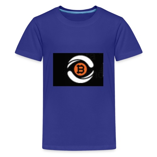 Short sleeves with logo - Kids' Premium T-Shirt