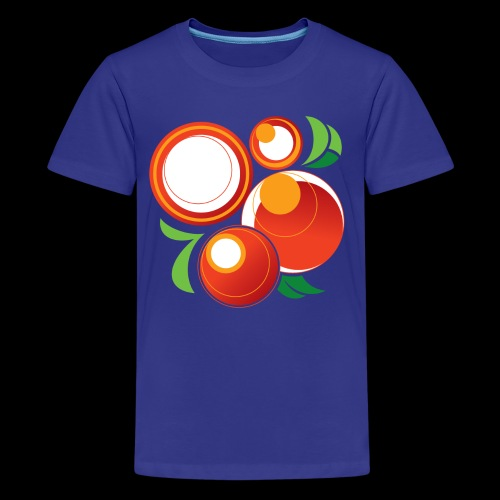 Abstract Oranges - Kids' Premium T-Shirt