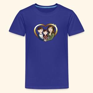 OUR3BS Heart - Kids' Premium T-Shirt