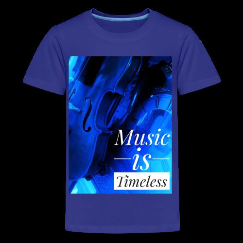 BANKHEAD VIOLINIST Music Is Timeless Original - Kids' Premium T-Shirt