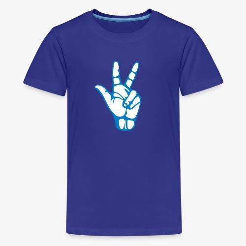 Dirk 3-Pointer - Kids' Premium T-Shirt