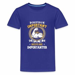 Education Biceps - Kids' Premium T-Shirt