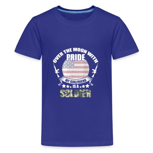 Great Gift For Soldier Girlfriend. Shirt From men - Kids' Premium T-Shirt