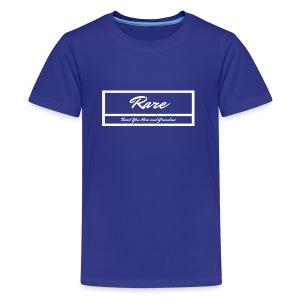 RARE Wht Label Women/ Girls - Kids' Premium T-Shirt
