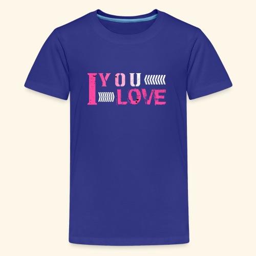 iloveyou - Kids' Premium T-Shirt